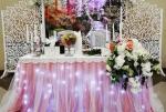 Оформление свадьбы резная ширма